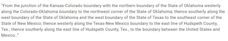 Texas Code of Federal Regulations